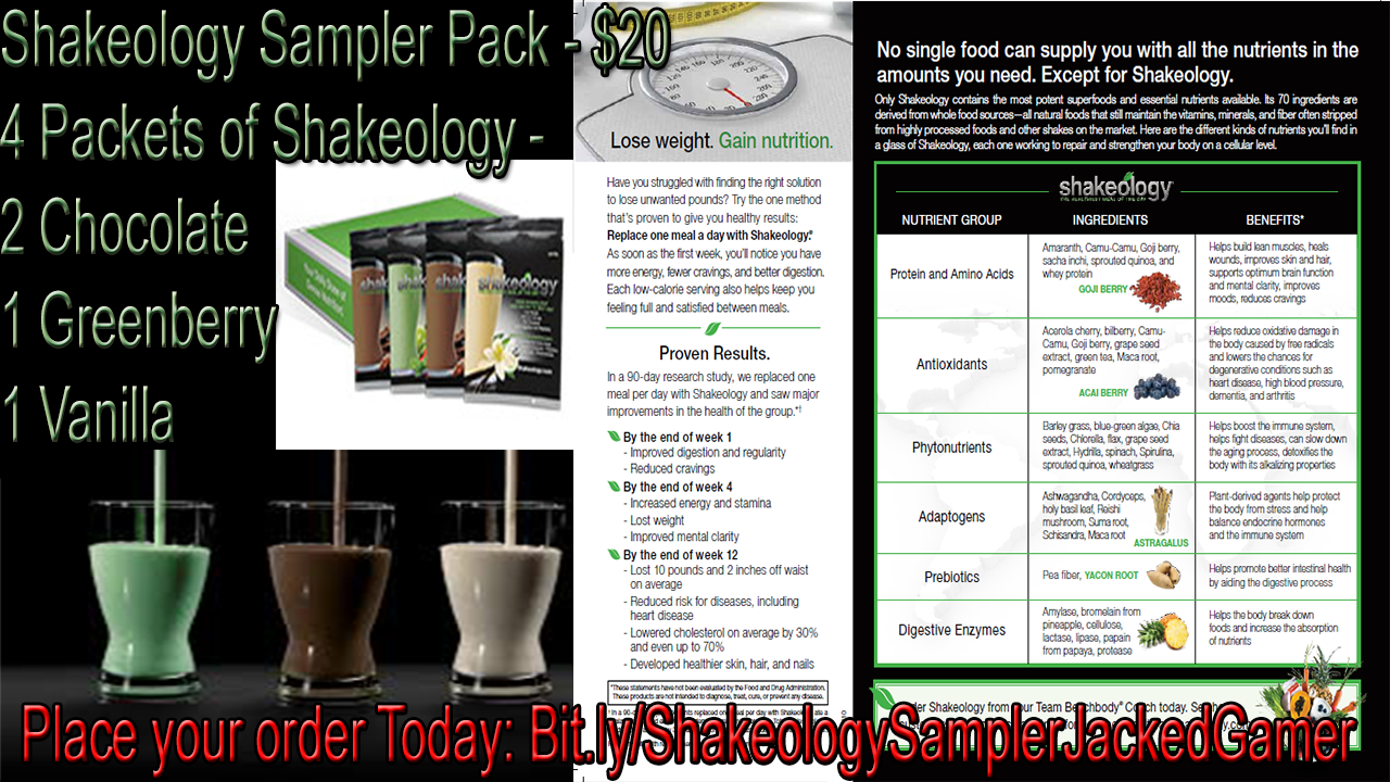 Shakeology Unbiased Review 2018 - Nutrition Facts ...
