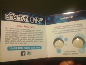 8-12hz gaming gum
